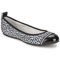 Zapatos Mujer Bailarinas-manoletinas Bikkembergs BASAR 910 Negro / Blanco