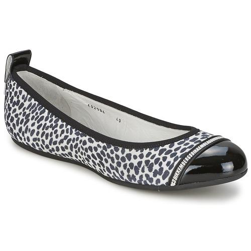 Zapatos promocionales Bikkembergs BASAR 910 Negro / Blanco  Casual salvaje