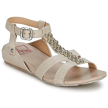 Zapatos Mujer Sandalias Un Matin d'Ete BOSQUET Natural