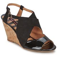 Zapatos Mujer Sandalias Chocolate Schubar ELVINA Negro