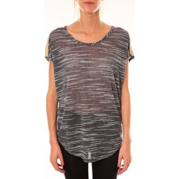 textil Mujer Tops / Blusas Dress Code Top à sequins R5523 marine Azul
