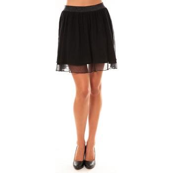 textil Mujer Faldas Coquelicot Jupe courte 15107/099 noir Negro