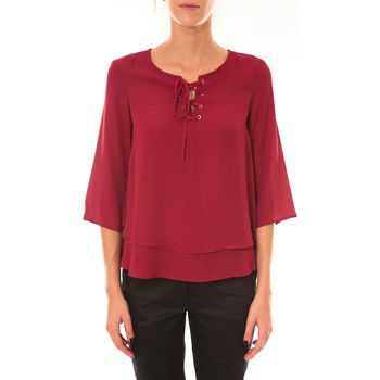 textil Mujer Tops / Blusas Dress Code Blouse 1652 bordeaux Rojo