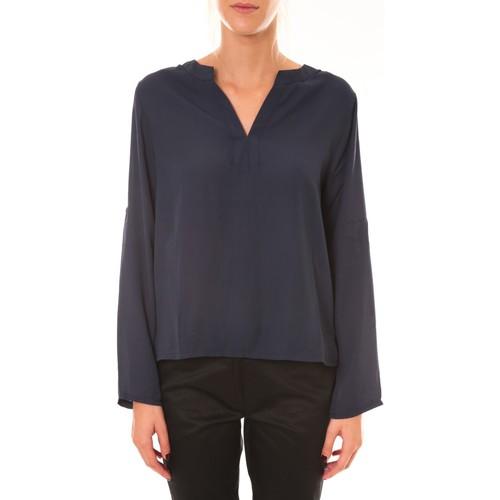textil Mujer Tops / Blusas Dress Code Blouse 1029 marine Azul