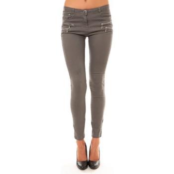 textil Mujer Pantalones con 5 bolsillos Comme Des Filles Comme Des Garçons Pantalon C606 gris Gris