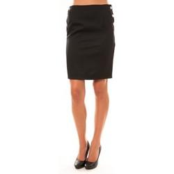 textil Mujer Faldas Dress Code Jupe D1452 noir Negro