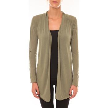 textil Mujer Chaquetas de punto Vision De Reve Vision de Rêve Cardigan 8677 vert Verde