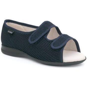 Zapatos Mujer Pantuflas Calzamedi S TELA AZUL