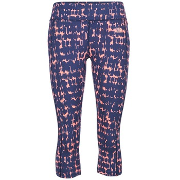 textil Mujer leggings The North Face PULSE CAPRI TIGHT Marino / Rosa
