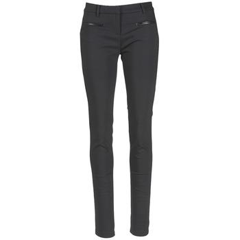 textil Mujer Pantalones con 5 bolsillos Tommy Hilfiger MARTA Negro