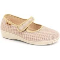 Zapatos Mujer Bailarinas-manoletinas Calzamedi PLANTILLAS W BEIGE
