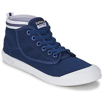 Zapatos Hombre Zapatillas altas Volley HIGH LEAP NAVY / Blanco