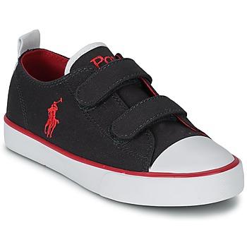 Zapatos Niños Zapatillas bajas Polo Ralph Lauren WHEREHAM LOW EZ Azul
