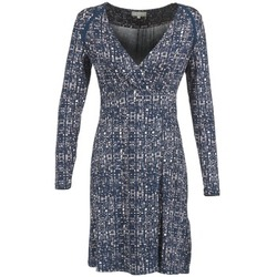 textil Mujer vestidos cortos Cream OMAGA Azul