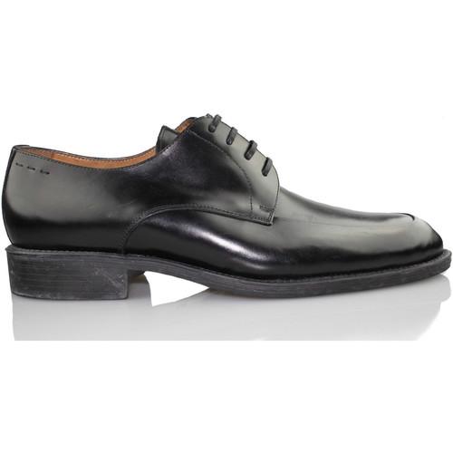 Zapatos Hombre Derbie Trotters COMPEY NEGRO NEGRO