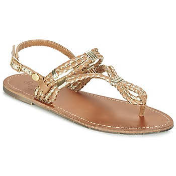 Zapatos Mujer Sandalias Pepe jeans JANE WOVEN METALLIC Marrón