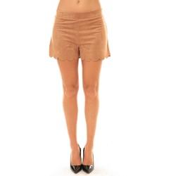 textil Mujer Shorts / Bermudas La Vitrine De La Mode By La Vitrine Short 53713 camel Marrón