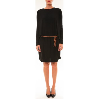 textil Mujer Vestidos cortos Dress Code Robe 53021 noir Negro
