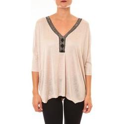 textil Mujer Tops / Blusas La Vitrine De La Mode By La Vitrine Top R5550 beige Beige