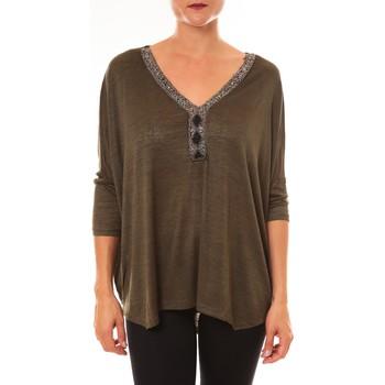 textil Mujer Tops / Blusas La Vitrine De La Mode By La Vitrine Top R5550 vert Verde