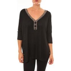 textil Mujer Tops / Blusas La Vitrine De La Mode By La Vitrine Top R5550 noir Negro