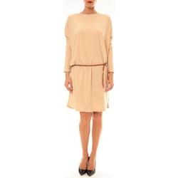textil Mujer Vestidos cortos Dress Code Robe 53021 beige Beige