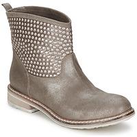 Zapatos Mujer Botas de caña baja Now TIONA Plomo