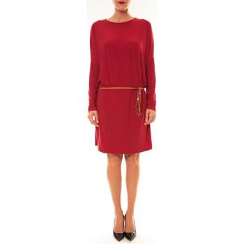 textil Mujer Vestidos cortos Dress Code Robe 53021 bordeaux Rojo