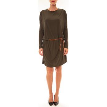 textil Mujer Vestidos cortos Dress Code Robe 53021 vert Verde