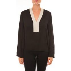 textil Mujer Tops / Blusas La Vitrine De La Mode By La Vitrine Blouse Z089 noir Negro