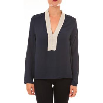 textil Mujer Tops / Blusas La Vitrine De La Mode By La Vitrine Blouse Z089 marine Azul