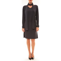 textil Mujer Vestidos cortos Dress Code Robe 88158 marine Azul