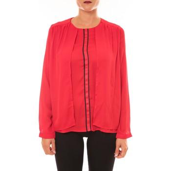 textil Mujer Tops / Blusas La Vitrine De La Mode By La Vitrine Blouse H12 rouge Rojo