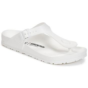 Zapatos Mujer Chanclas Birkenstock GIZEH EVA Blanco