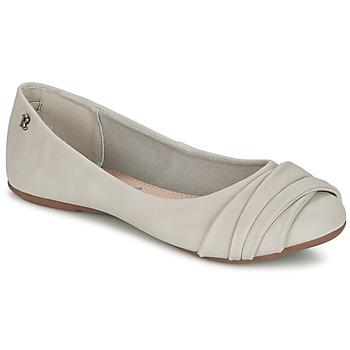 Zapatos Mujer Bailarinas-manoletinas Refresh SHANNON Gris