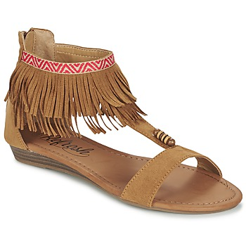 Zapatos Mujer Sandalias Refresh CONNELL Camel