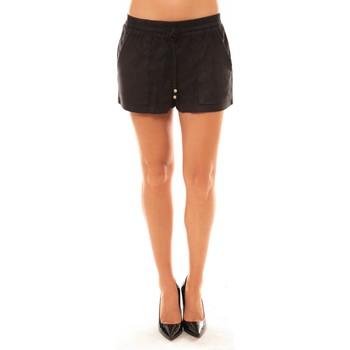 textil Mujer Shorts / Bermudas La Vitrine De La Mode By La Vitrine Short Y536 noir Negro