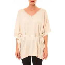 textil Mujer Camisetas manga corta La Vitrine De La Mode By La Vitrine Pull MC3120 beige Beige