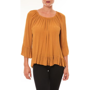 textil Mujer Tops / Blusas By La Vitrine Blouse Giulia moutarde Amarillo