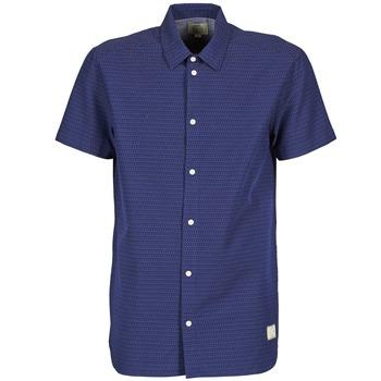 textil Hombre camisas manga corta Suit DAN S Azul