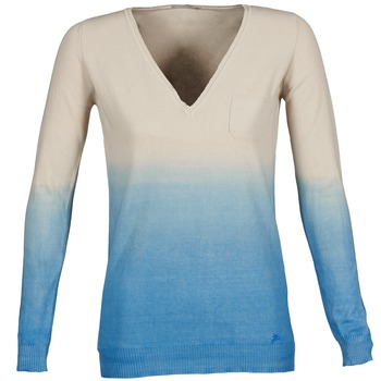 textil Mujer jerséis Gas DESHI Beige / Azul