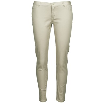 textil Mujer pantalones con 5 bolsillos Little Marcel PRANTI Beige