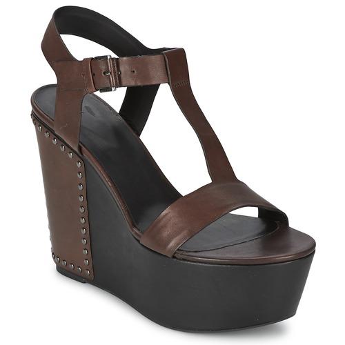 Venta de liquidación de temporada Zapatos especiales Vic GIBSON Marrón