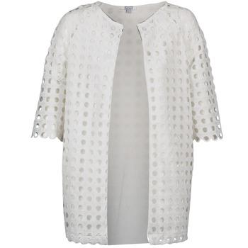 textil Mujer Abrigos Brigitte Bardot BB44197 Blanco
