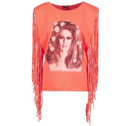 textil Mujer camisetas sin mangas Brigitte Bardot BB44075 Coral
