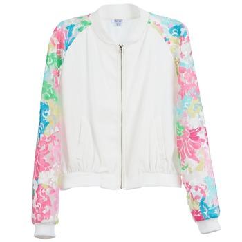 textil Mujer Chaquetas Brigitte Bardot BB44045 Blanco / Multicolor