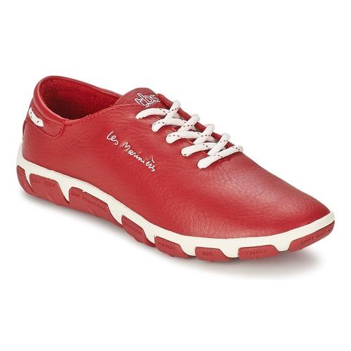 Zapatos Mujer Zapatillas bajas TBS JAZARU Rojo