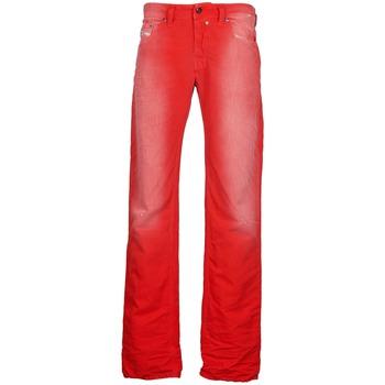 textil Hombre vaqueros rectos Diesel SAFADO Rojo