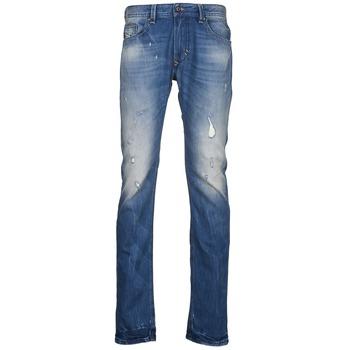 textil Hombre vaqueros slim Diesel THAVAR Azul
