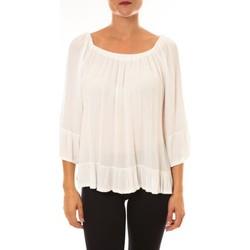 textil Mujer Tops / Blusas By La Vitrine Blouse Giulia blanc Blanco